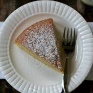 almond cake slice