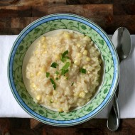 corn risotto