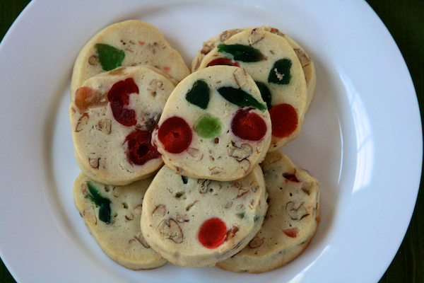 Fruit cake cookies the merry gourmet