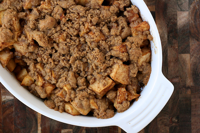 spring break & cinnamon-apple crisp - The Merry Gourmet