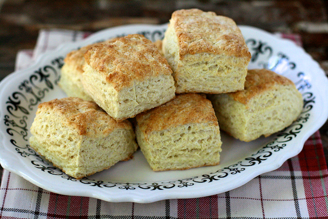 lightened-up cream cheese biscuits
