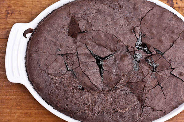 so long january and a recipe: chocolate brownie pudding