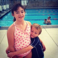 kids at swim
