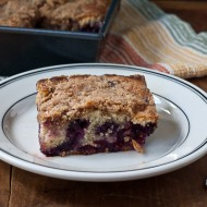 blueberry and cherry buckle