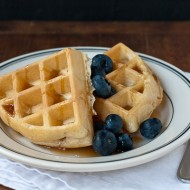 cinnamon yeasted raised belgian waffles