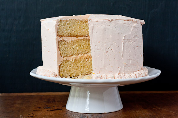 orange creamsicle cake | the merry gourmet
