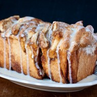 brown sugar &amp; cinnamon pull-apart bread | the merry gourmet