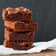 gooey chocolate brownies | the merry gourmet