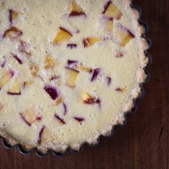 nectarine buttermilk tart | the merry gourmet