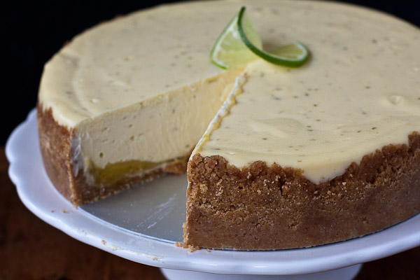my gratitude, and a recipe for key lime cheesecake