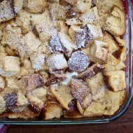 french toast casserole | the merry gourmet