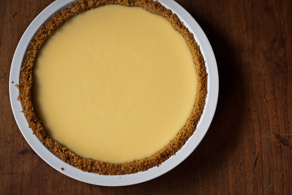 lemon icebox pie | the merry gourmet