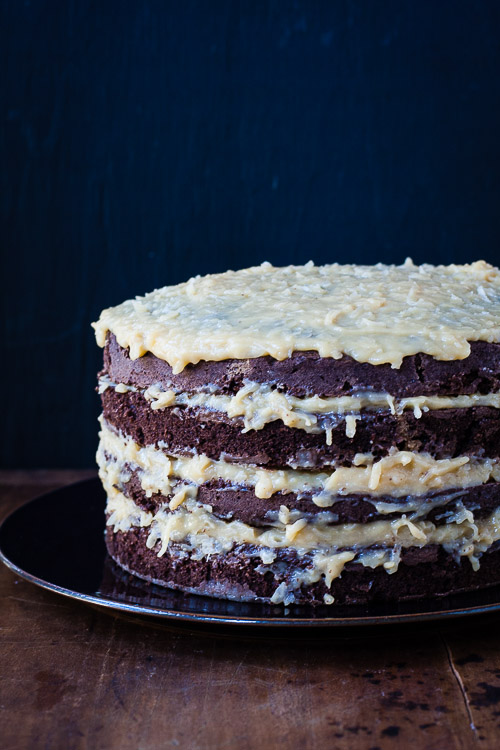 german chocolate cake | the merry gourmet