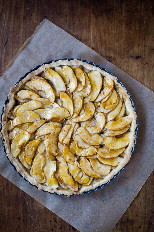 apple tart | the merry gourmet