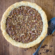 old fashioned pecan pie | the merry gourmet