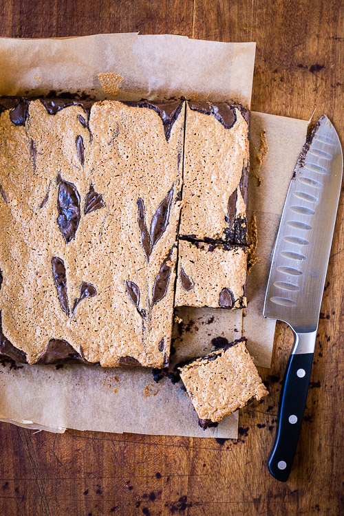 peanut butter swirl brownies | the merry gourmet
