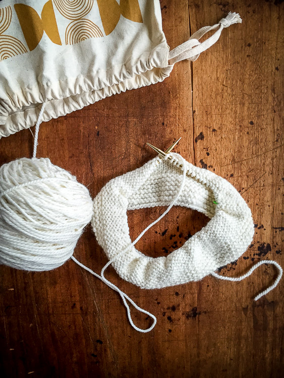 on knitting | the merry gourmet
