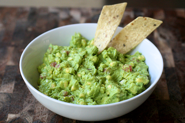 Tailgate food guacamole dip with fresh corn the merry gourmet for me traditional guacamole has good avocados at its base and some salt and perhaps some lime tomato or onion but really not much forumfinder Images