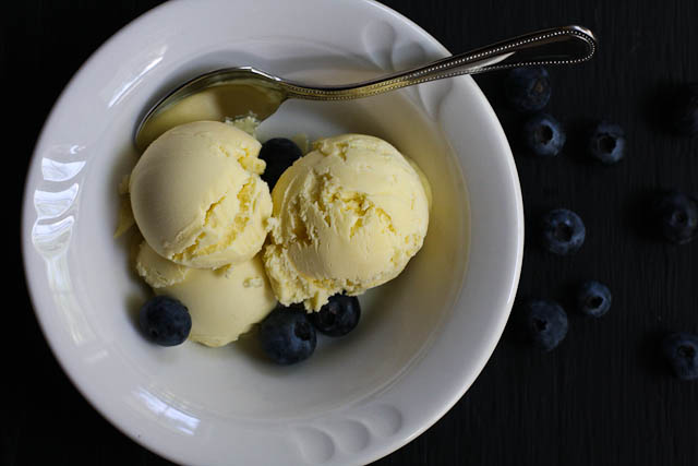 olive oil ice cream | the merry gourmet