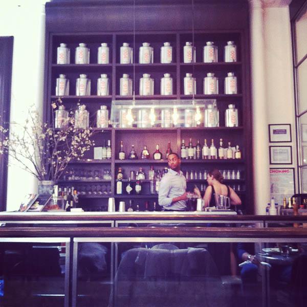 Mercer Kitchen New York: The Merry Gourmet Silent Sunday: New York City, In Photos