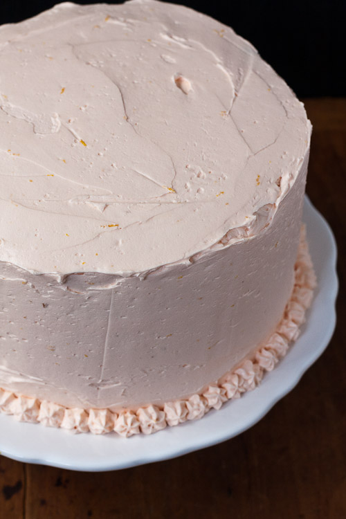 orange creamsicle cake   the merry gourmet