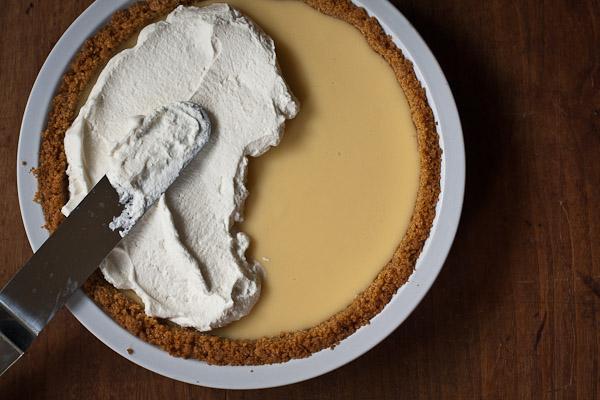 lemon icebox pie | the merry gourmet