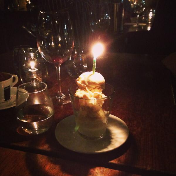 birthday gelato