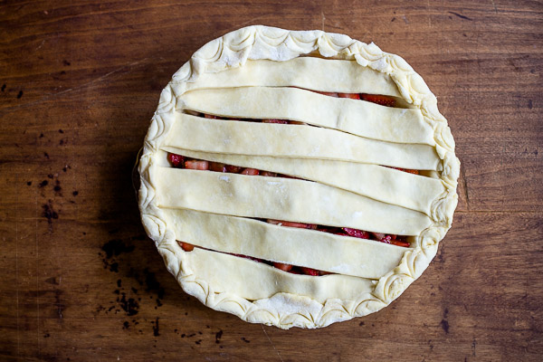 strawberry balsamic pie | the merry gourmet