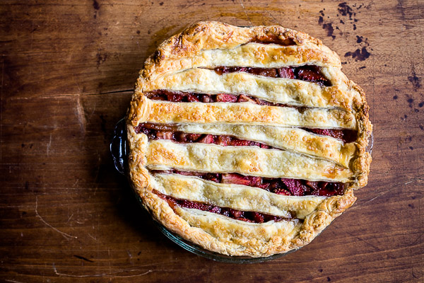 strawberry balsamic pie | the merry gourmet