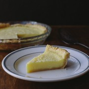 lemon buttermilk pie | the merry gourmet