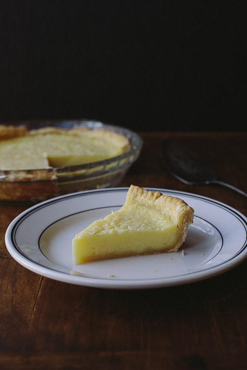 lemon buttermilk pie | the merry gourmet