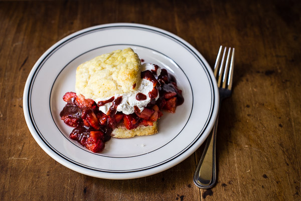 strawberry shortcakes | the merry gourmet