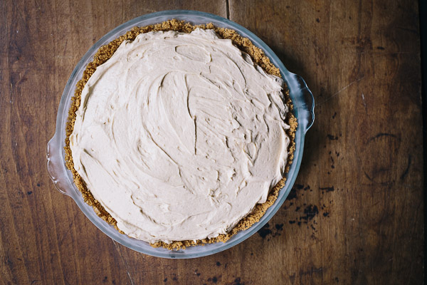black-bottom peanut butter pie | the merry gourmet