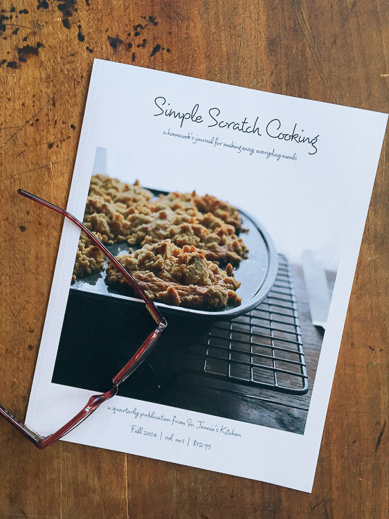 simple scratch cooking