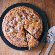 chocolate chip banana cake | the merry gourmet