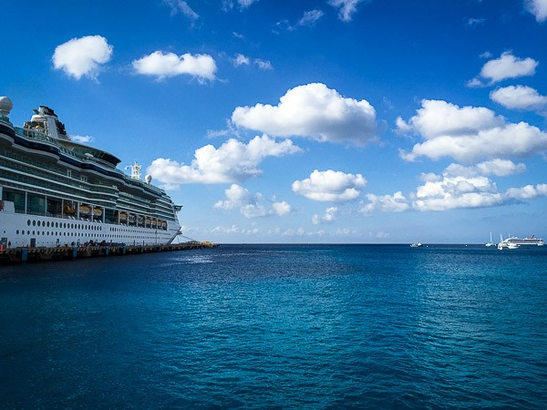 Fifteen Things I Did On Spring Break The Merry Gourmet - Using a cellphone on a cruise ship