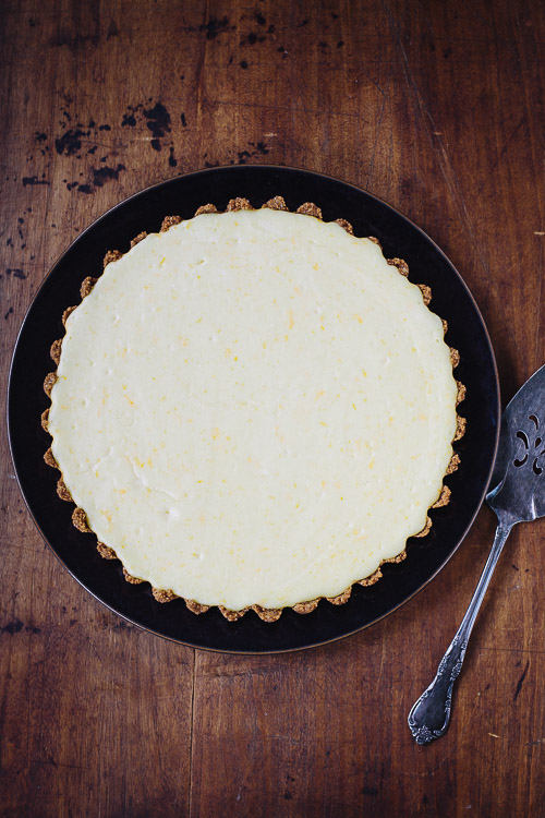 orange ricotta tart | the merry gourmet