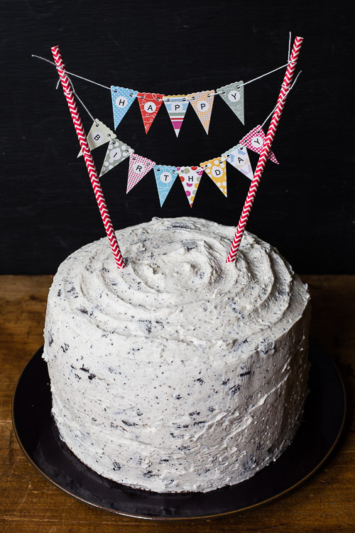 cookies and cream cake | the merry gourmet